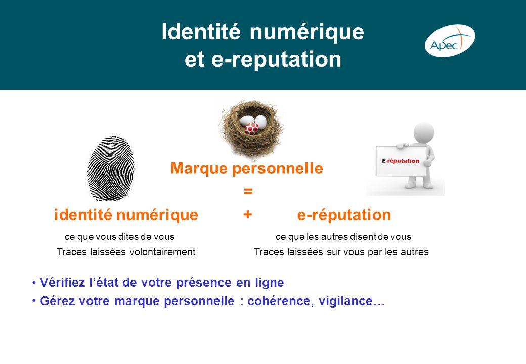 Identité numérique et e-reputation