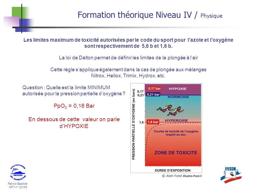 Formation théorique Niveau IV / Physique