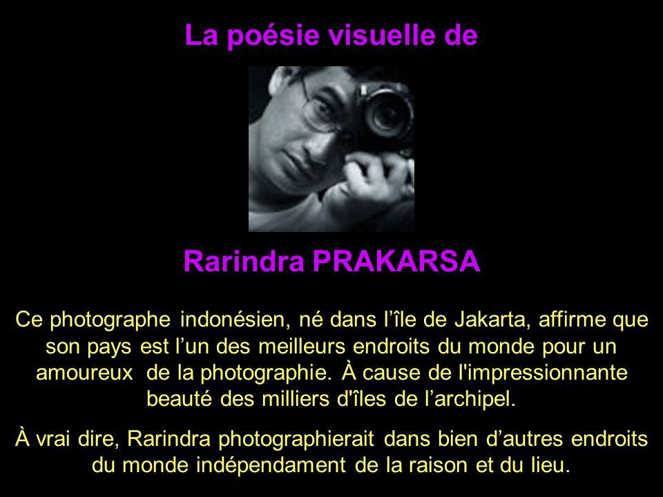 La poésie visuelle de Rarindra PRAKARSA
