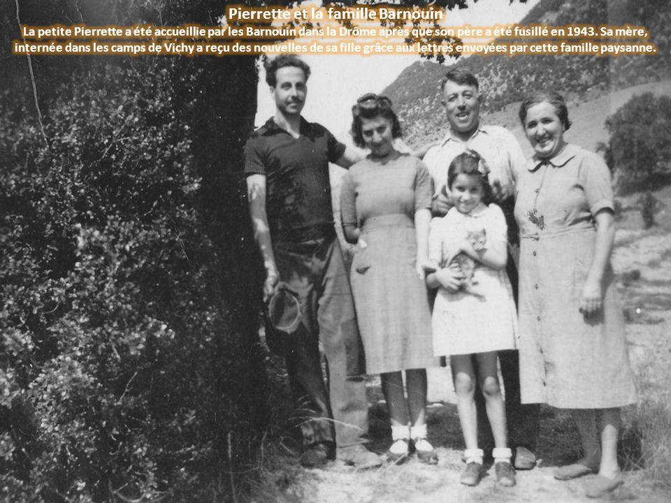 Pierrette et la famille Barnouin