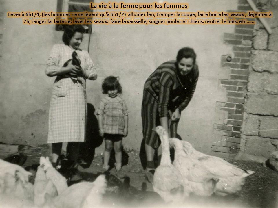 La vie à la ferme pour les femmes