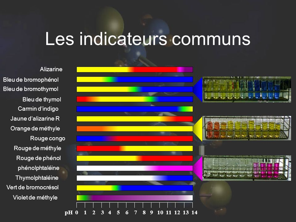Les indicateurs communs