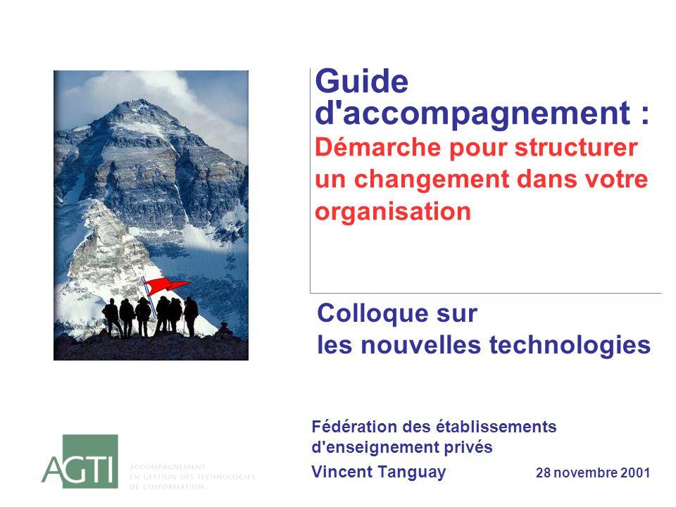 Guide d accompagnement : Démarche pour structurer un changement dans votre organisation