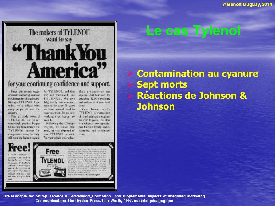 Le cas Tylenol Contamination au cyanure Sept morts