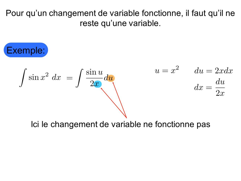 Ici le changement de variable ne fonctionne pas