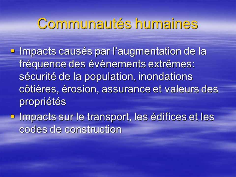 Communautés humaines