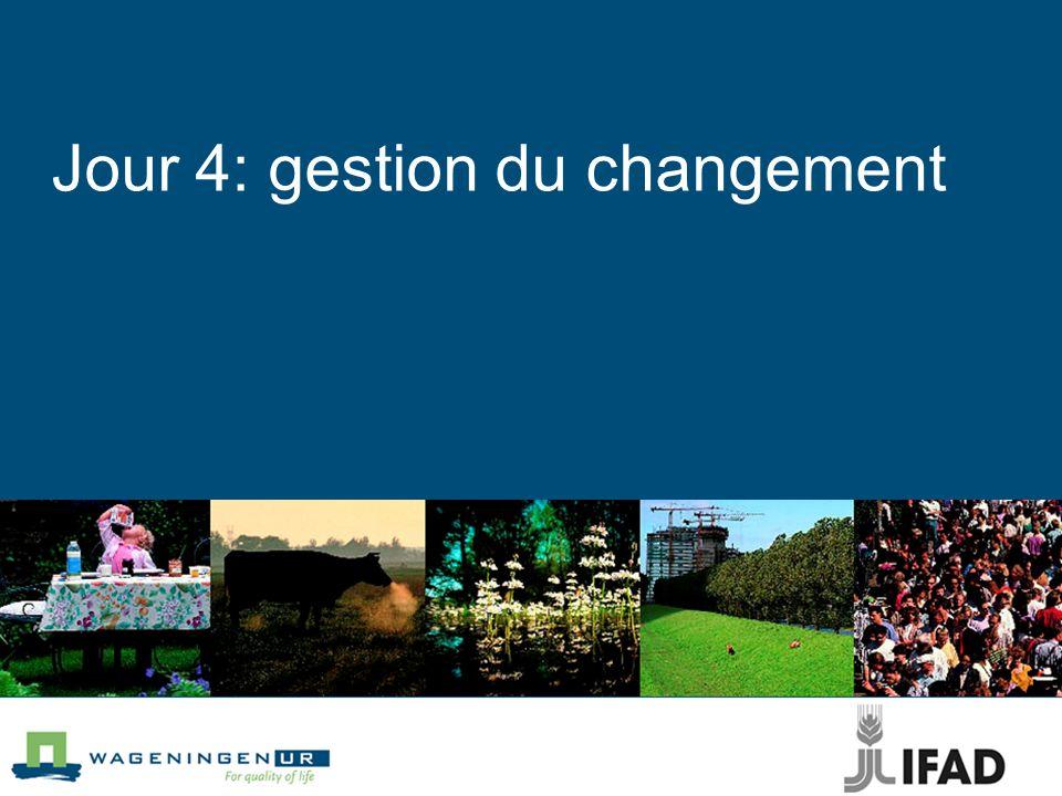 Jour 4: gestion du changement
