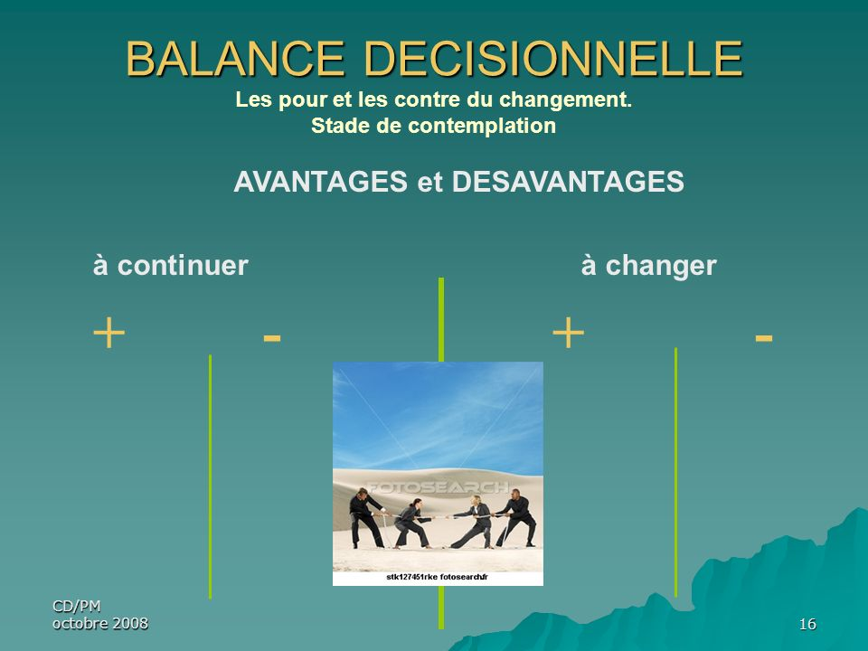 BALANCE DECISIONNELLE