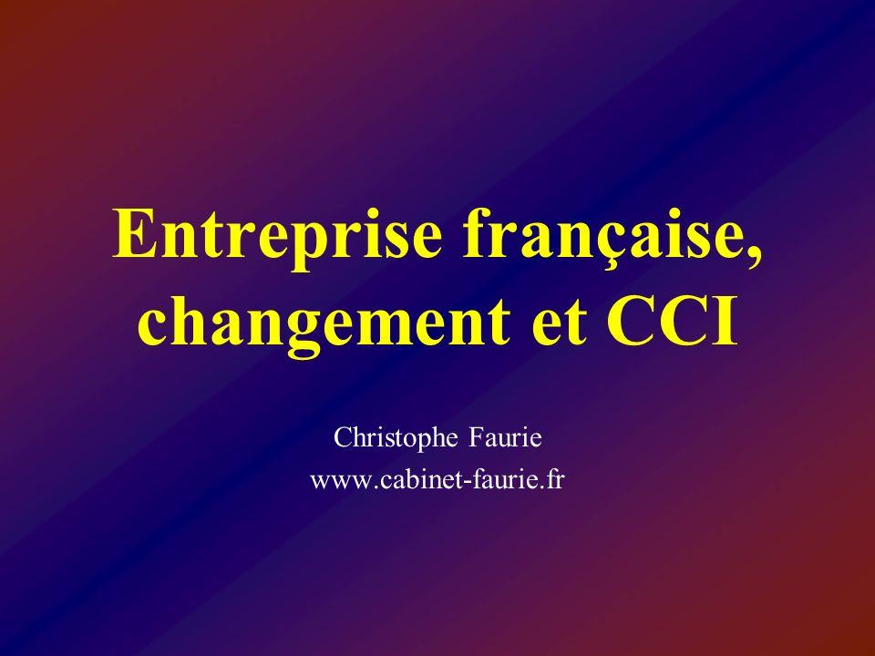 Entreprise française, changement et CCI