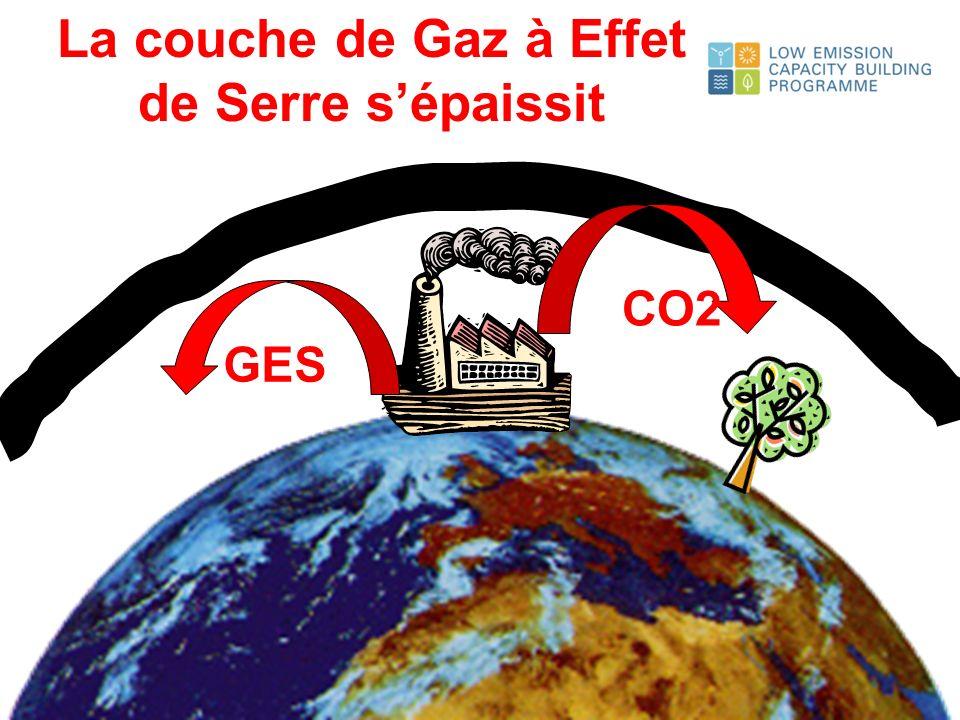 La couche de Gaz à Effet de Serre s'épaissit