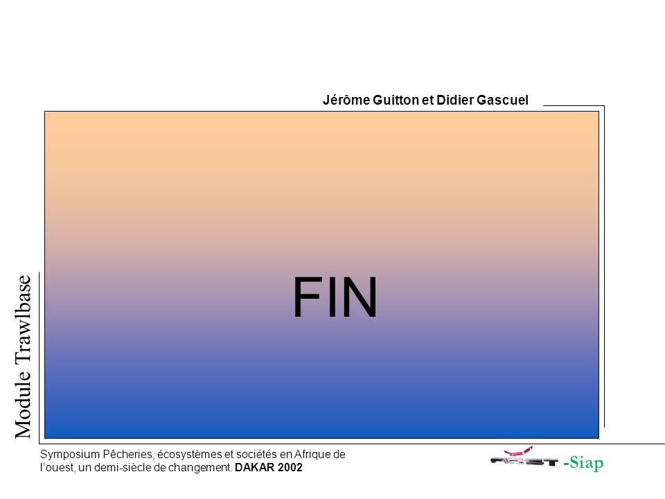 FIN Module Trawlbase -Siap Jérôme Guitton et Didier Gascuel