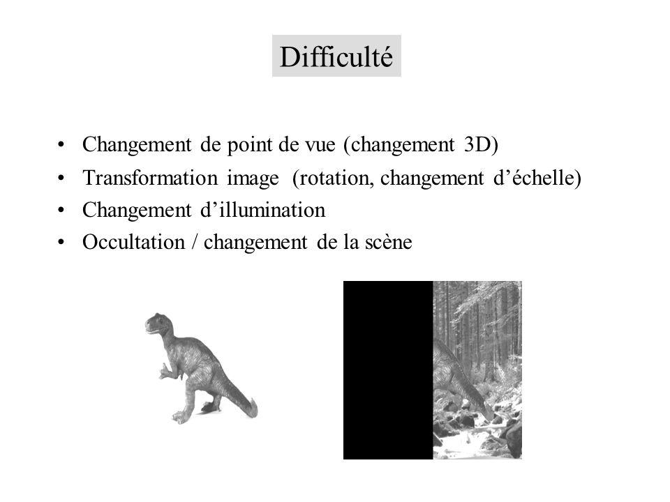 Difficulté Changement de point de vue (changement 3D)