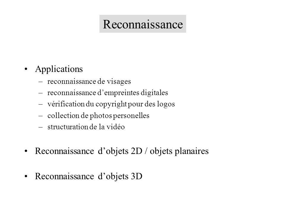 Reconnaissance Applications