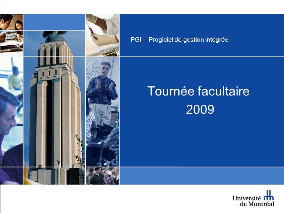 PGI – Progiciel de gestion intégrée