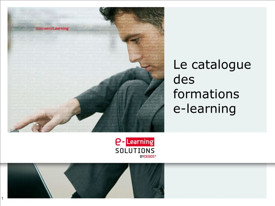 Le catalogue des formations e-learning