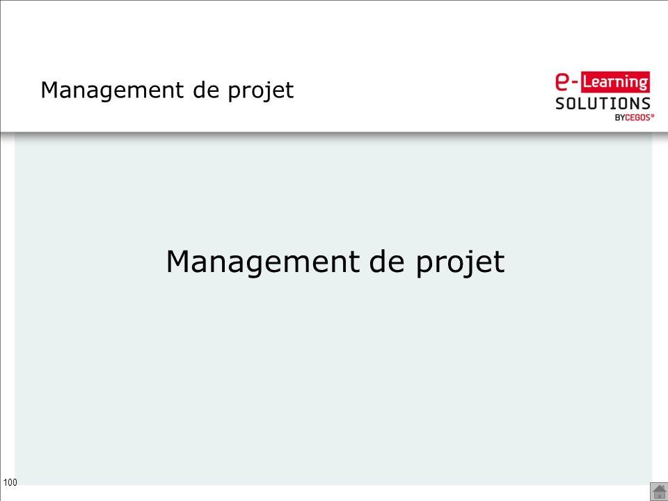 Management de projet Management de projet