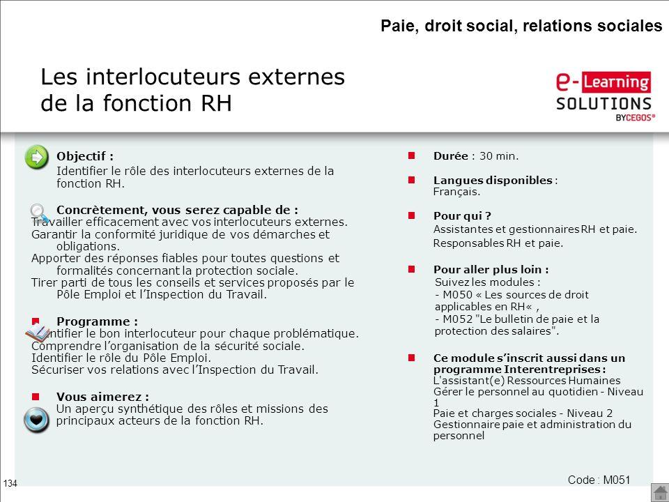 Les interlocuteurs externes de la fonction RH
