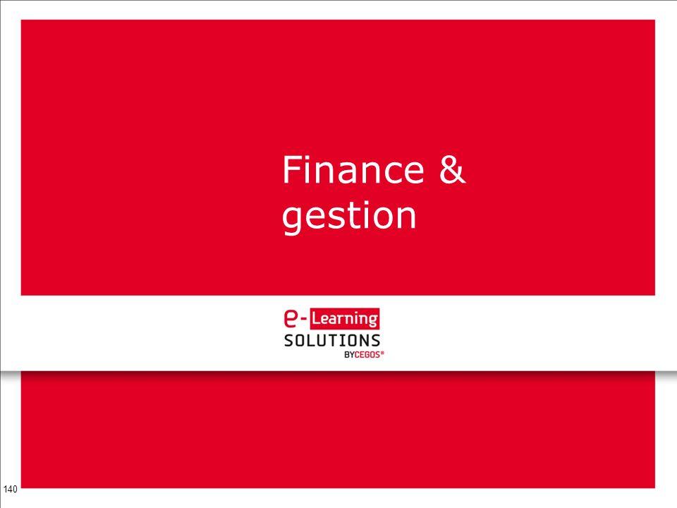 Finance & gestion