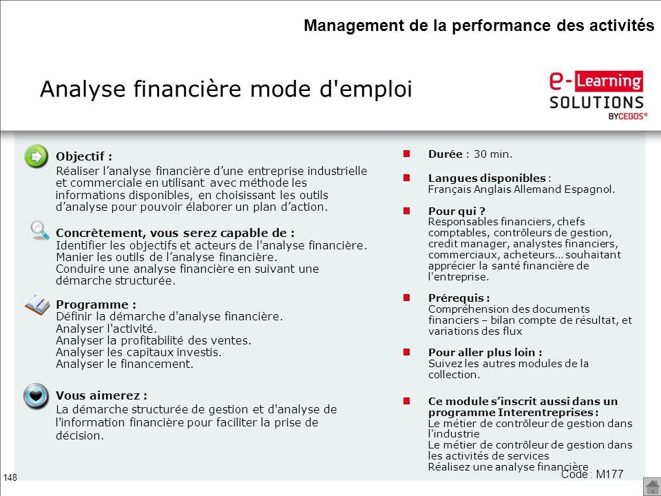 Analyse financière mode d emploi