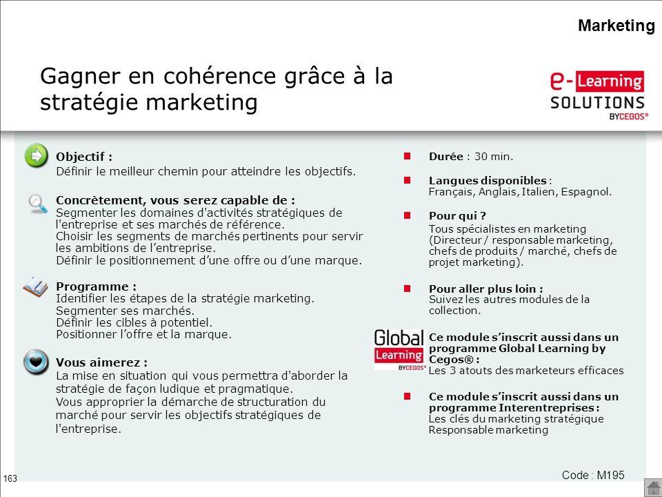 Gagner en cohérence grâce à la stratégie marketing