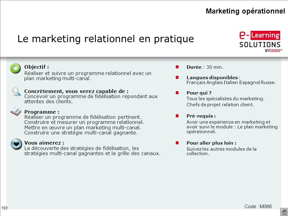 Le marketing relationnel en pratique