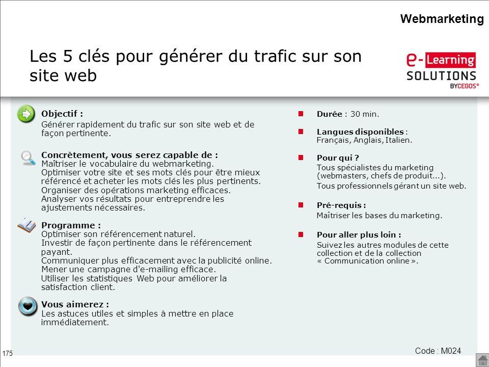 Les 5 clés pour générer du trafic sur son site web