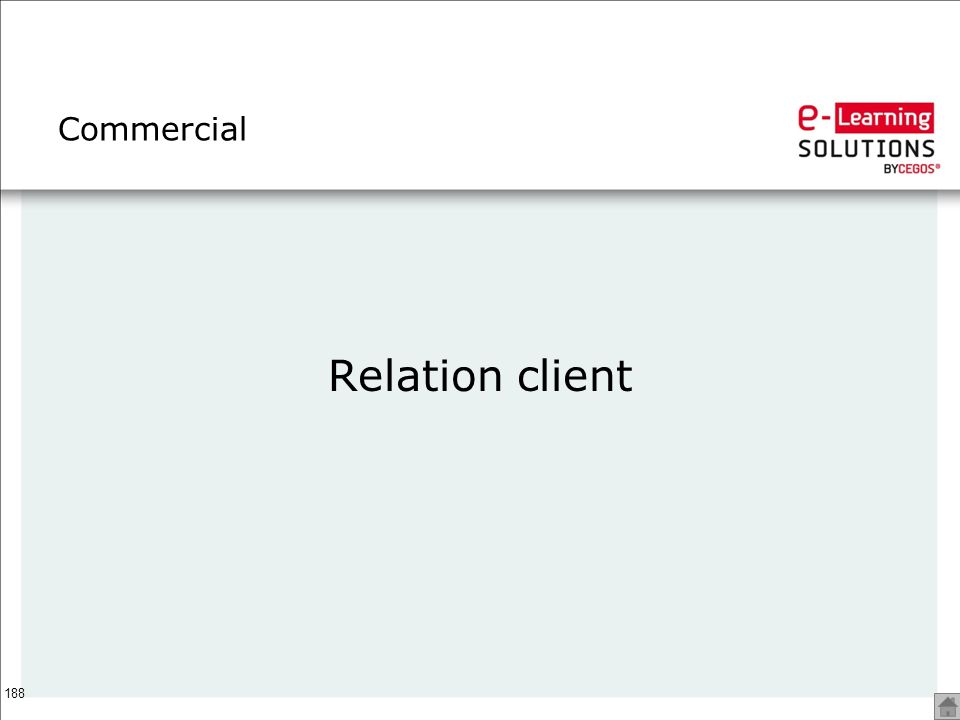 Commercial Relation client