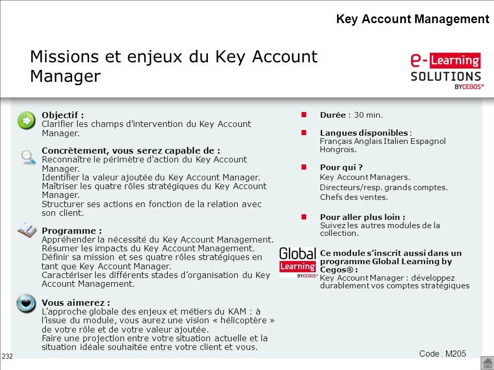 Missions et enjeux du Key Account Manager