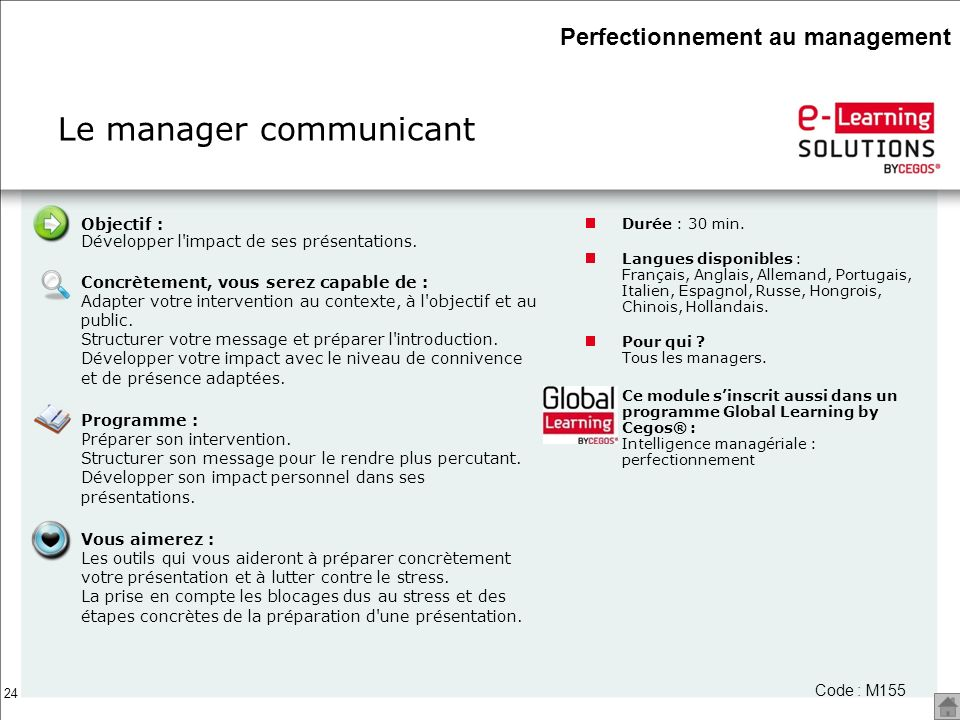 Le manager communicant