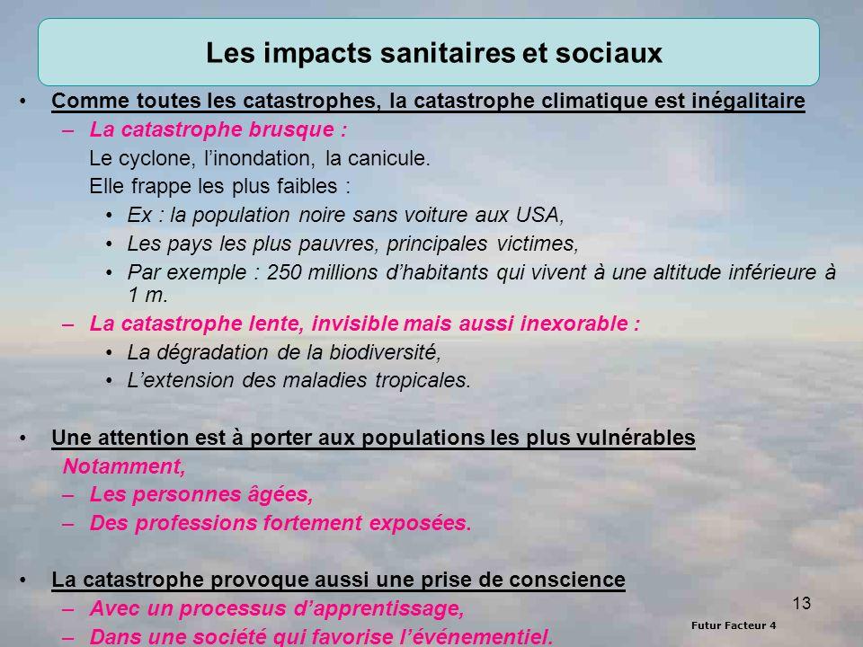 Les impacts sanitaires et sociaux