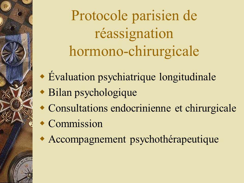Protocole parisien de réassignation hormono-chirurgicale