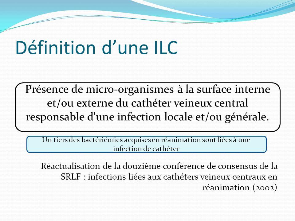 Définition d'une ILC