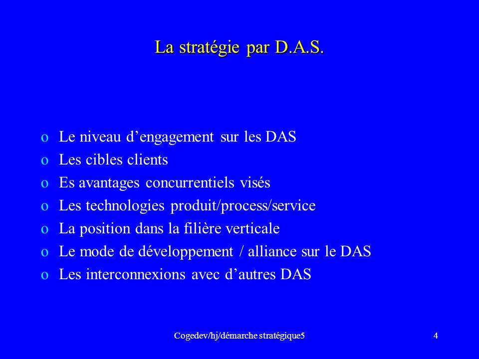 Cogedev/hj/démarche stratégique5