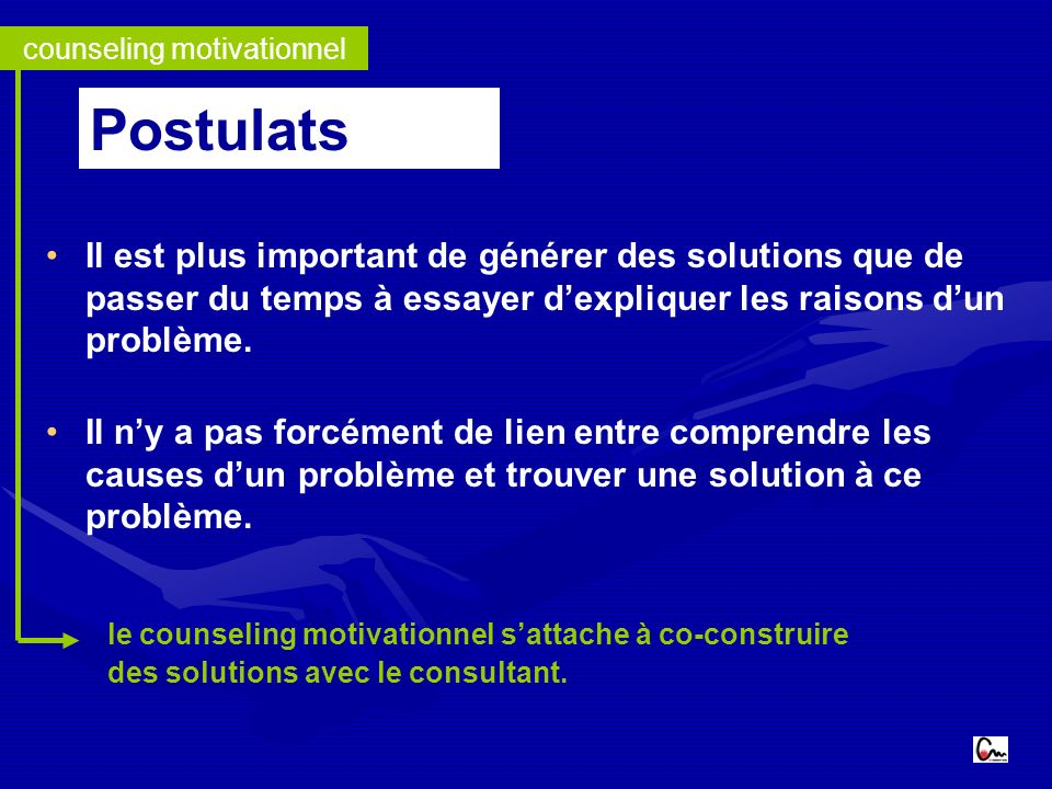 counseling motivationnel