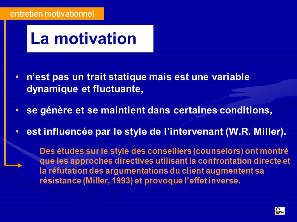 entretien motivationnel