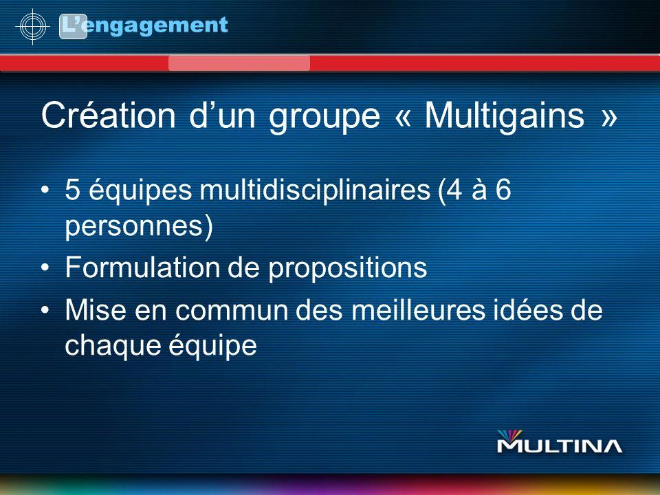 Création d'un groupe « Multigains »