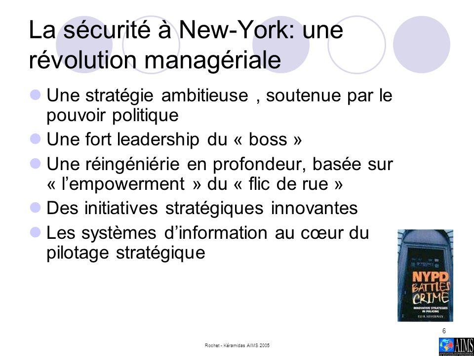 La sécurité à New-York: une révolution managériale