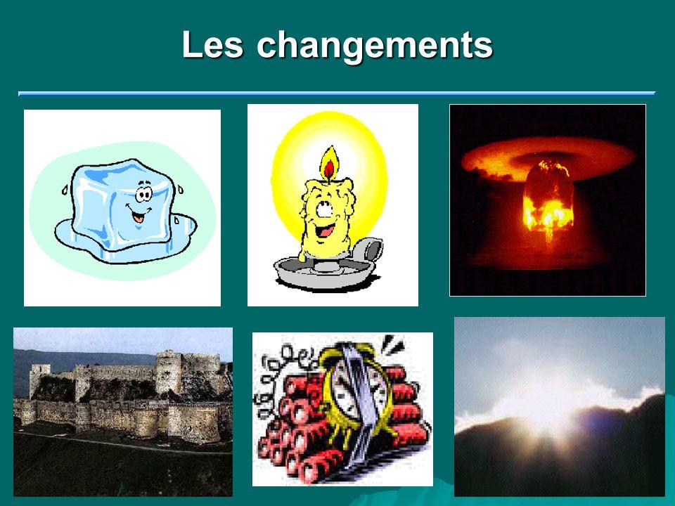 Les changements