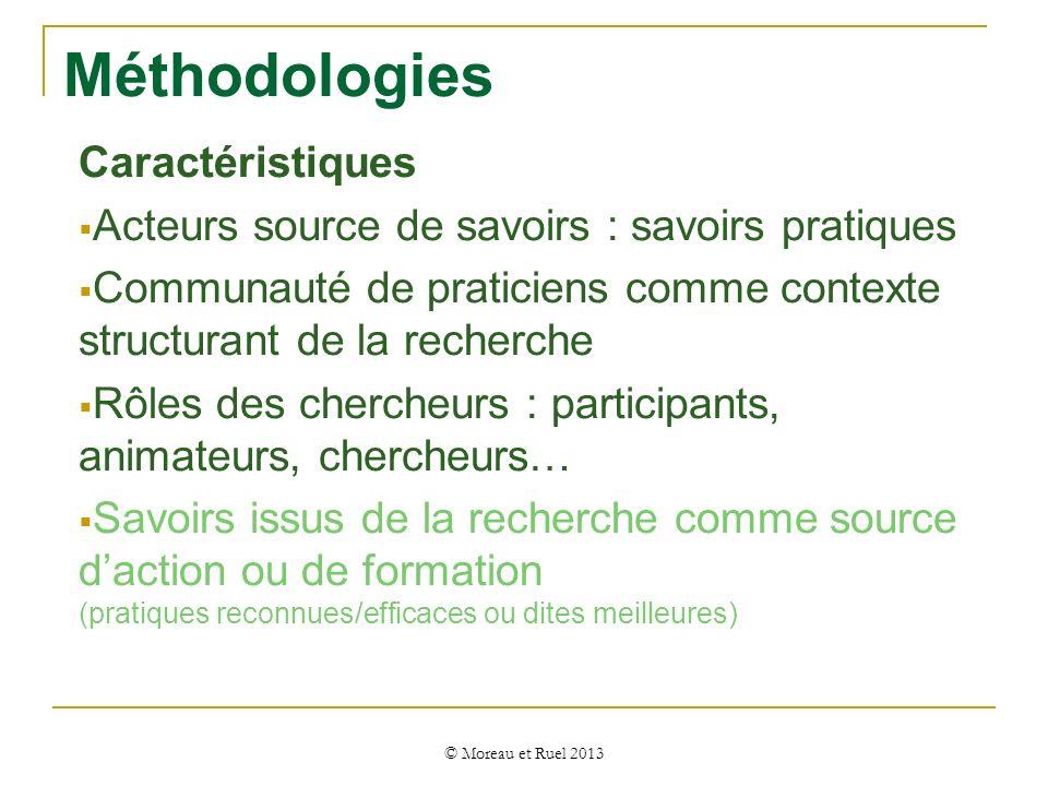 Méthodologies Caractéristiques