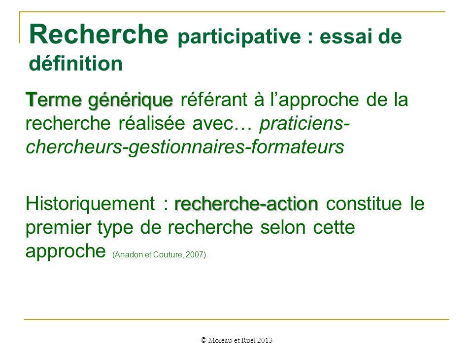 Recherche participative : essai de définition