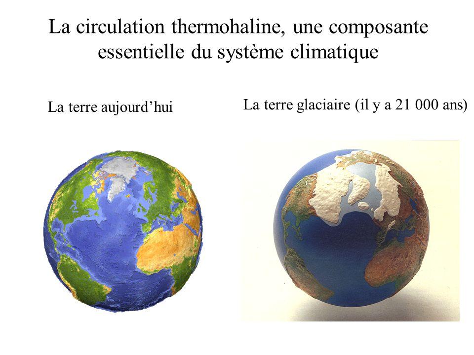 La circulation thermohaline, une composante essentielle du système climatique