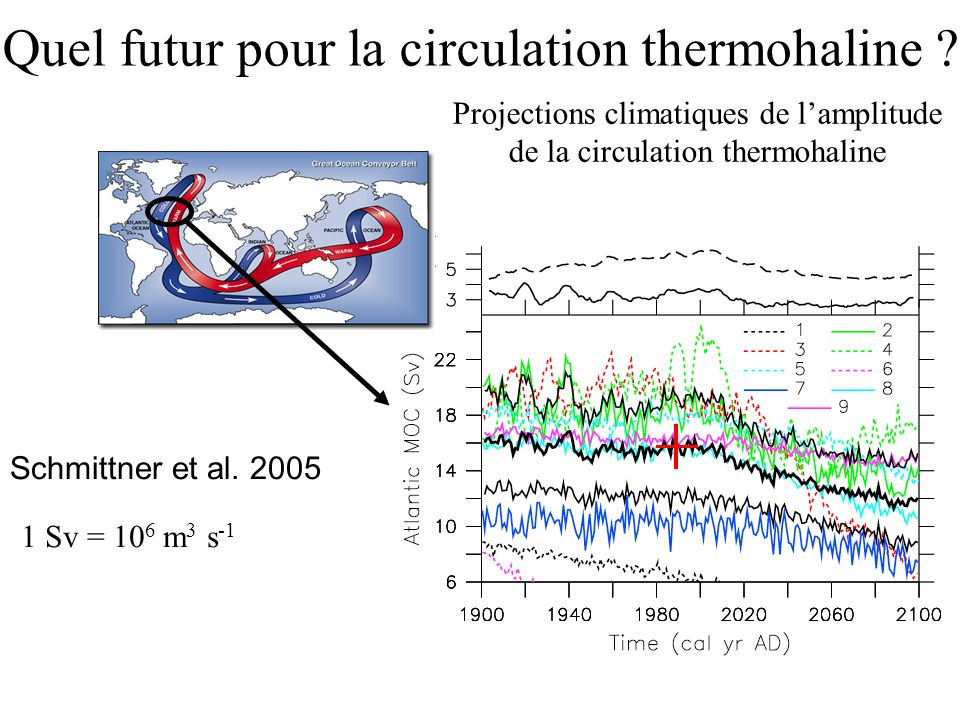Quel futur pour la circulation thermohaline