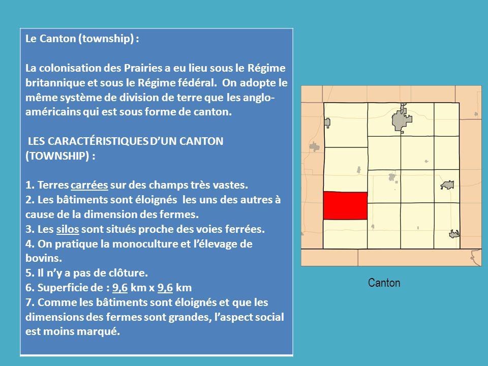 Le Canton (township) :