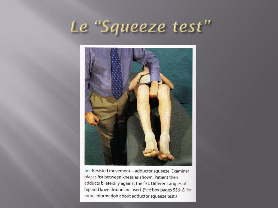 Le Squeeze test
