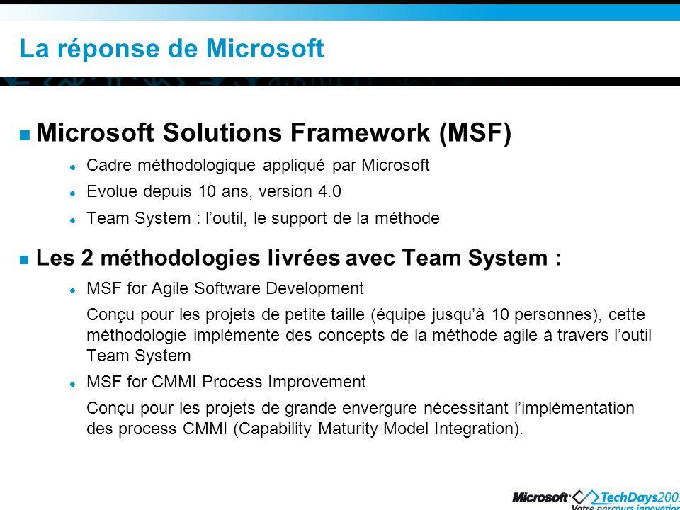 La réponse de Microsoft