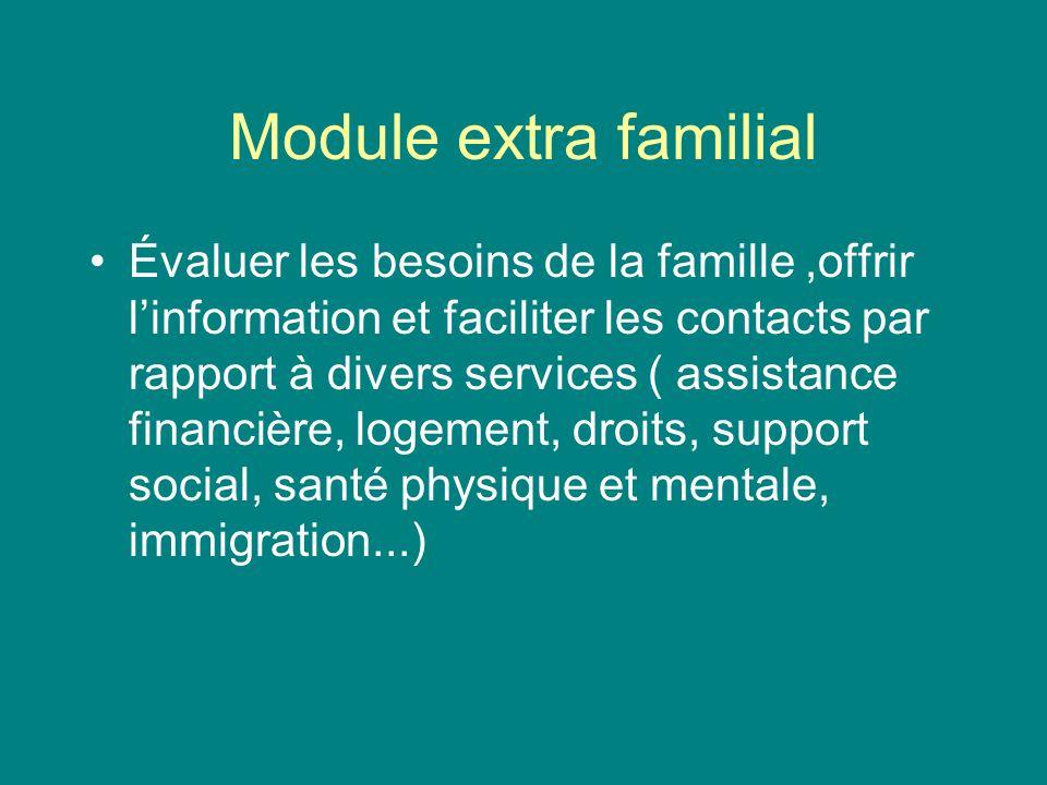 Module extra familial