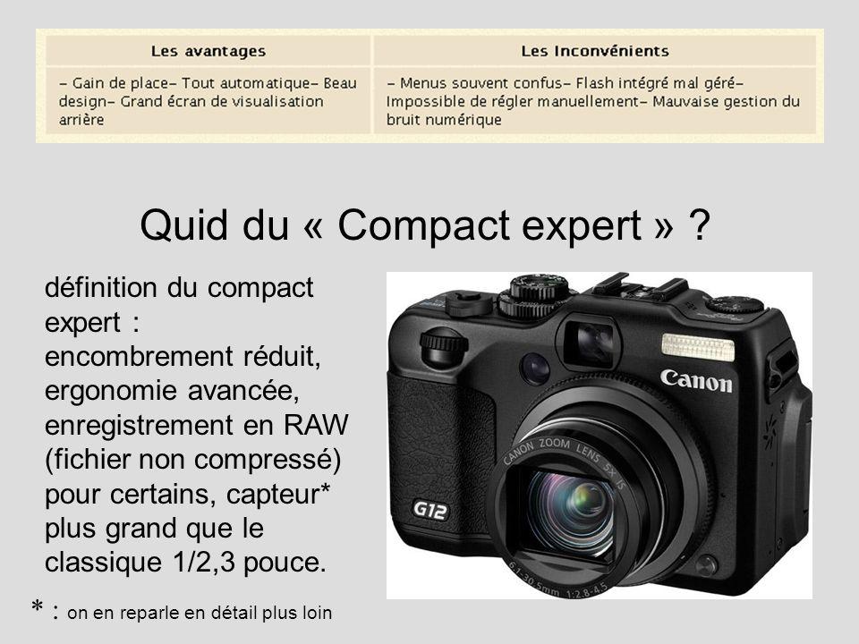 Quid du « Compact expert »