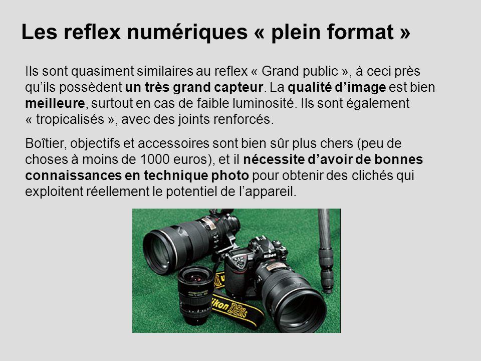 Les reflex numériques « plein format »