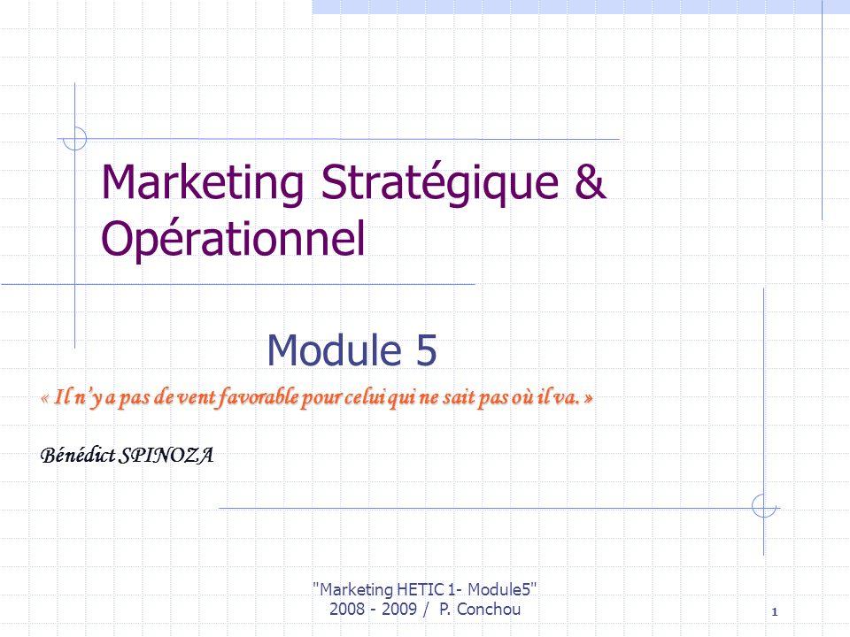 Marketing Stratégique & Opérationnel