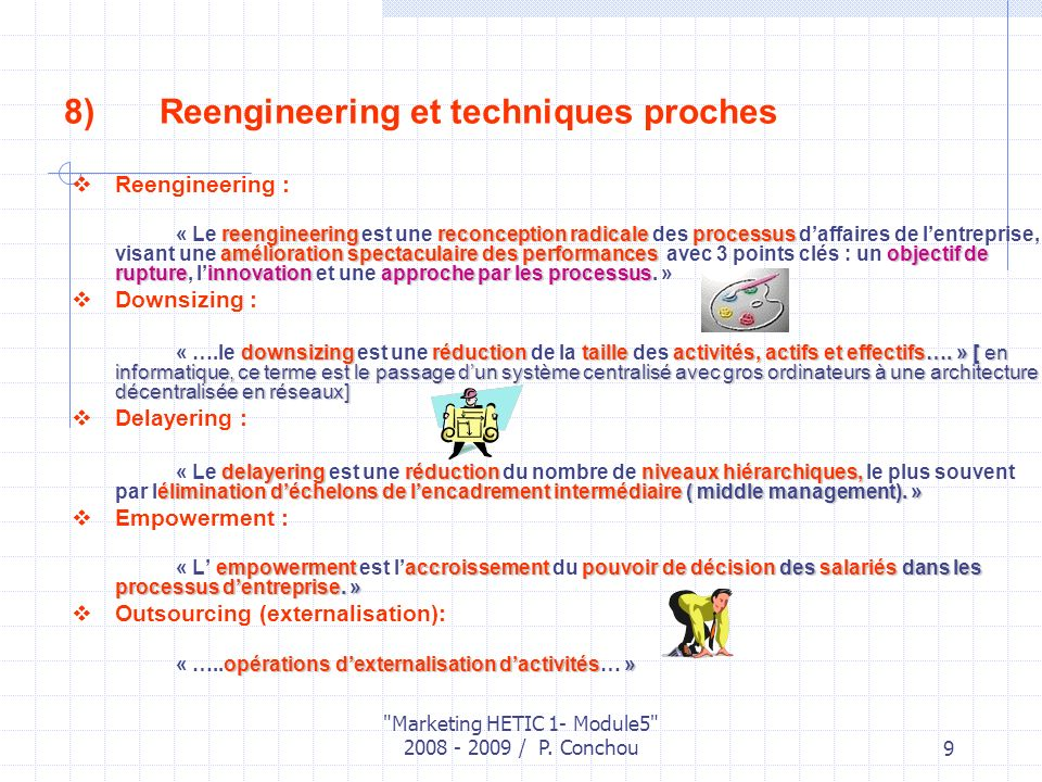 Reengineering et techniques proches